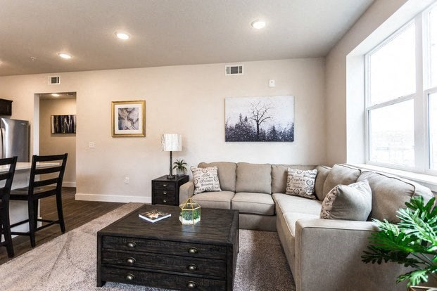 Living Room| Apartments For Rent Fort Collins