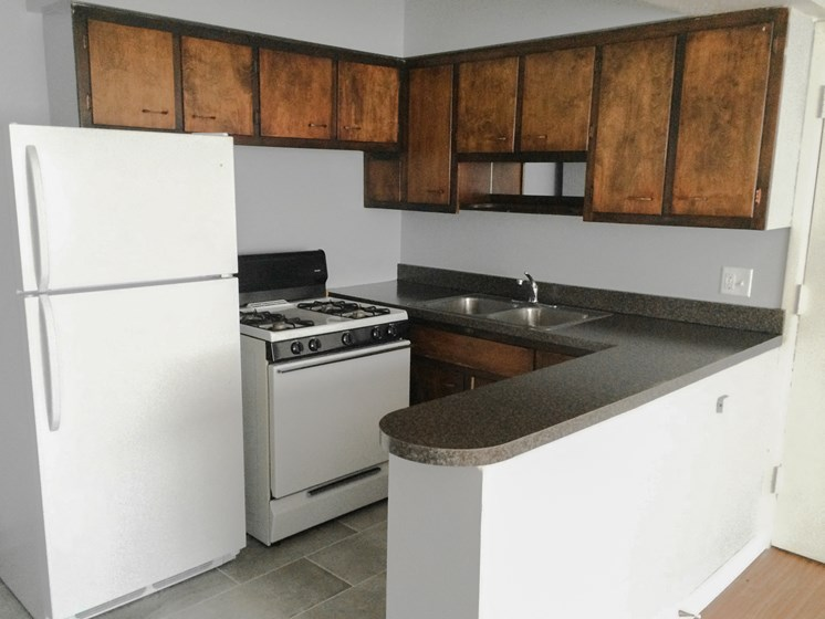 Eastlake Terrace 1 Bedroom Kitchen