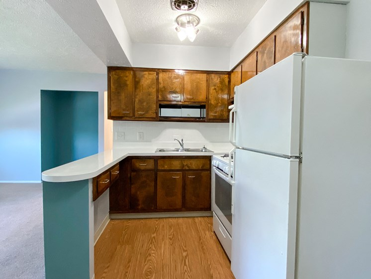 Eastlake Terrace 2 Bedroom Kitchen