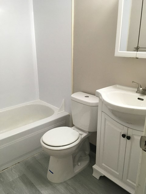 rehabbed bathroom