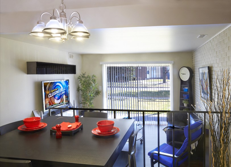 Lourdes Dining and Living Area (shown in Classic style)