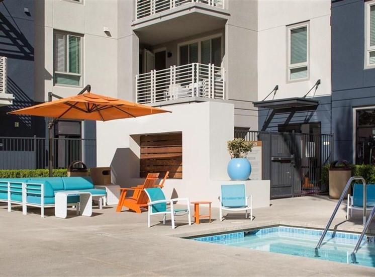 Spa at Carabella at Warner Center Apartments in Woodland Hills CA