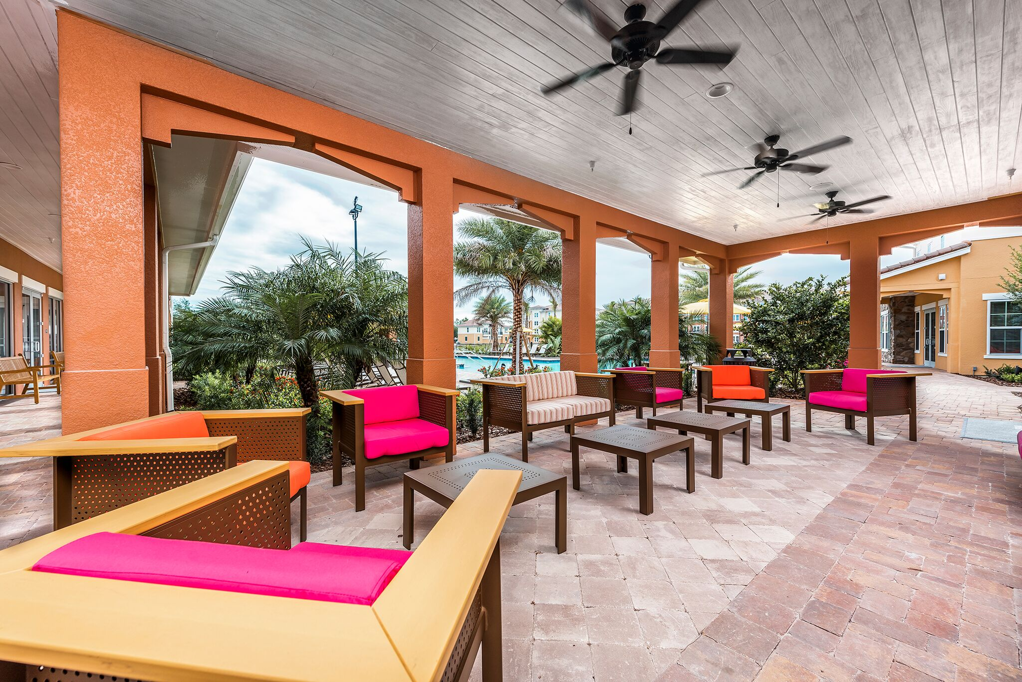 Community Lounge with Stunning Views at Vernazza, Florida, 34741