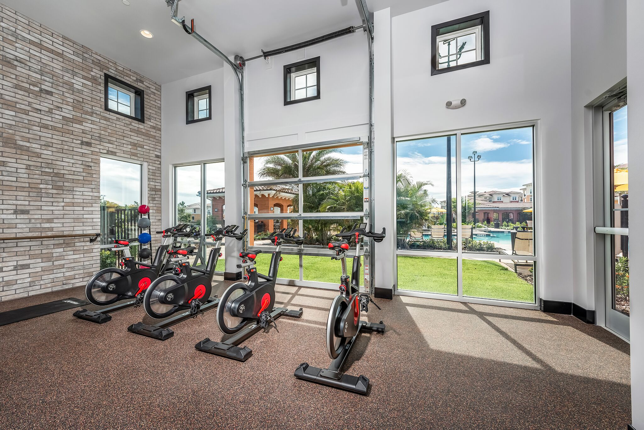 spin bike at Vernazza, Kissimmee, Florida