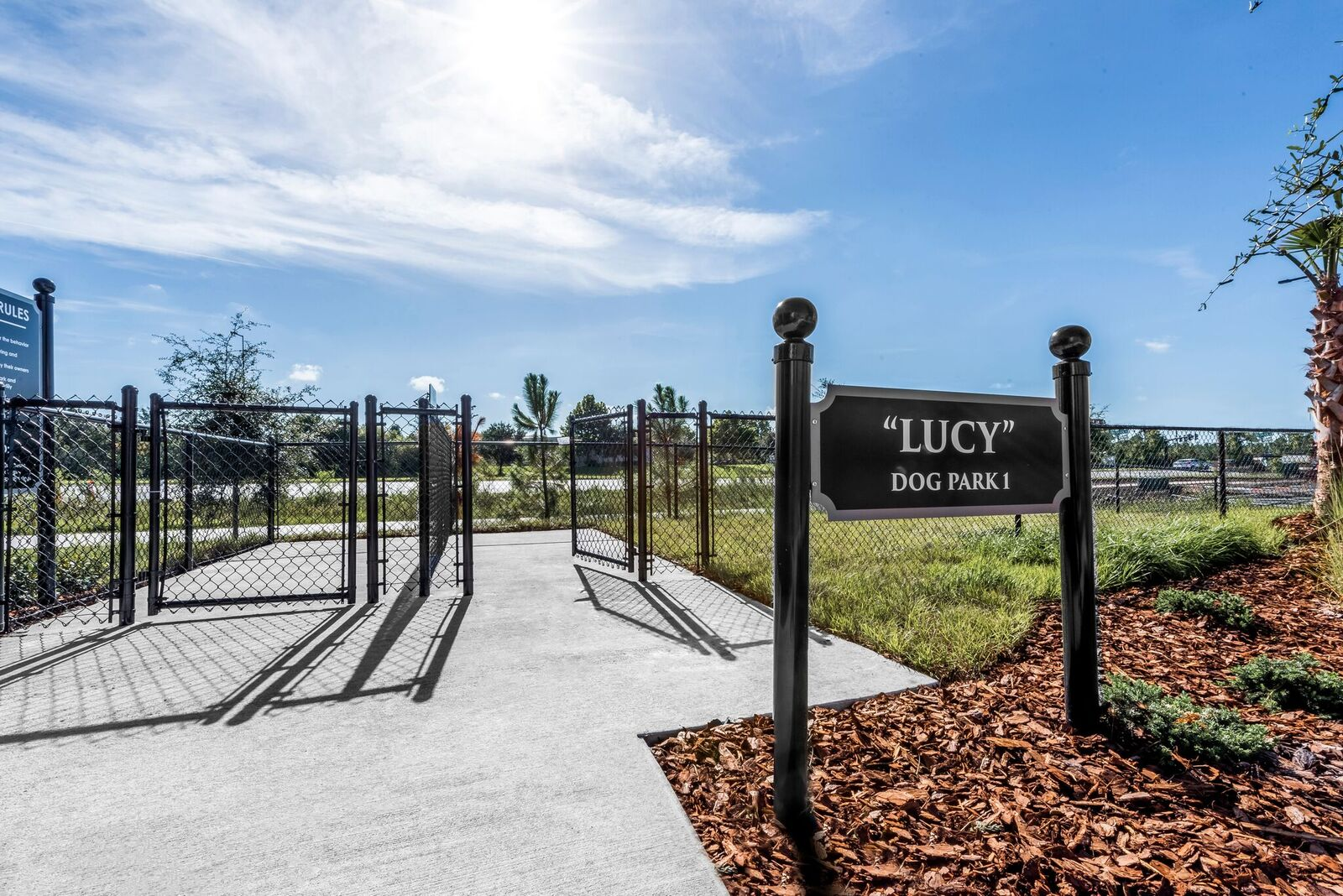 Dog Park Access at Vernazza, Florida