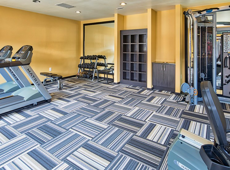 Millspring Commons Rental Townhomes Gym