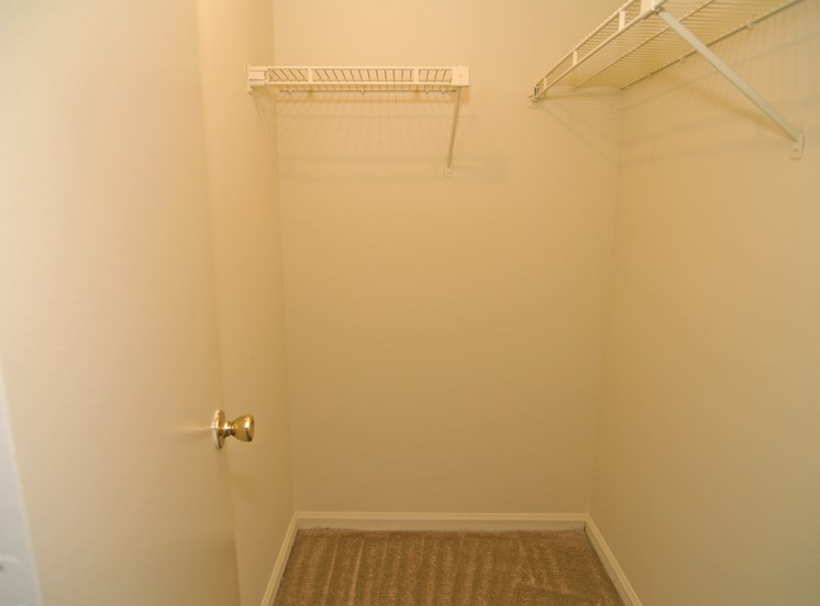 The Courts at Yorkshire Downs Apartments Closet