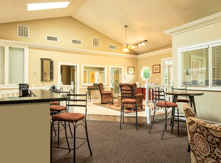Clubhouse for residents in Apartments near Langley