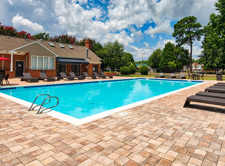 Pool at Apartments in York County Va