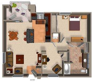 A3 floor plan