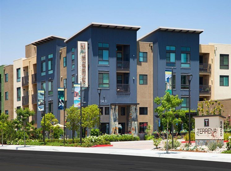 Studio, one and two bedroom apartments at Terrena Apartments in Northridge CA