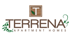 Logo for Terrena Apartment Homes in Northridge, CA