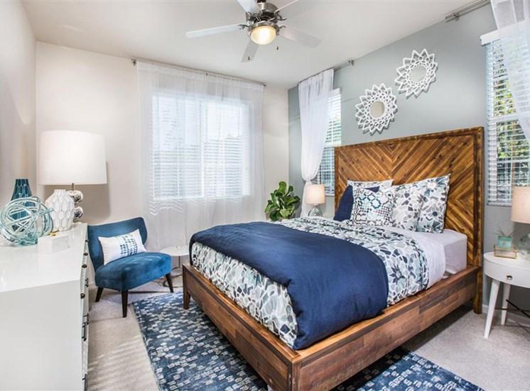 Bedroom at Capriana at Chino Hills Apartments in Chino Hills CA