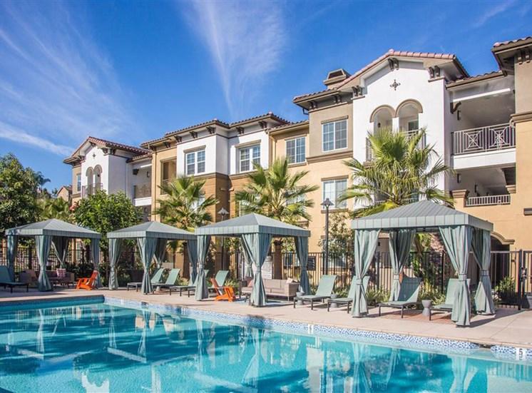 Pool at Capriana at Chino Hills Apartments in Chino Hills CA