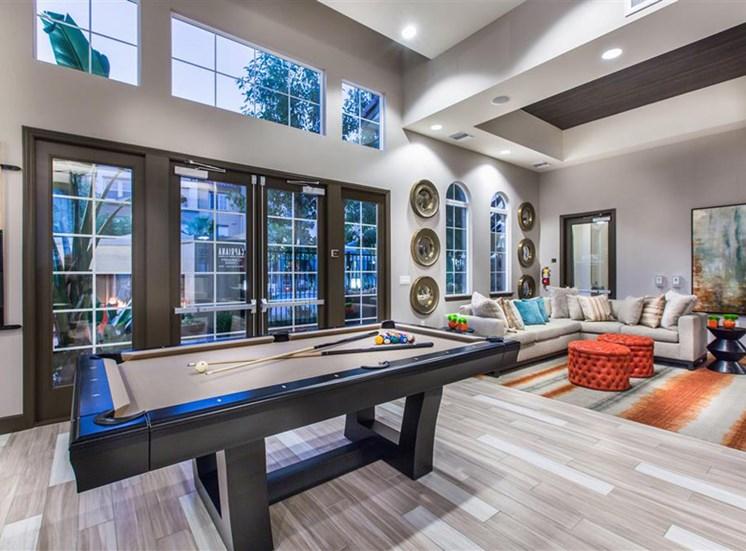 Pool table at Capriana at Chino Hills Apartments in Chino Hills CA