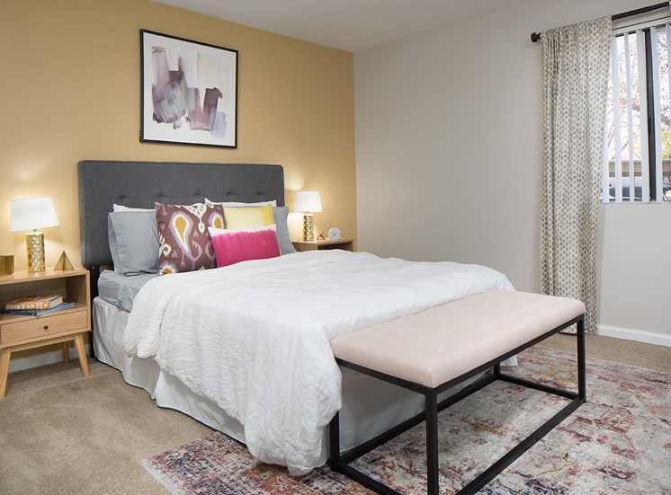 Master Bedroom at Sorelle apartments in Moreno Valley CA