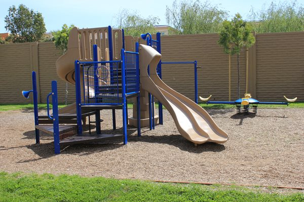 Playground at Merrick Apartments in Placentia, CA