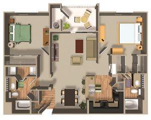B21 floor plan