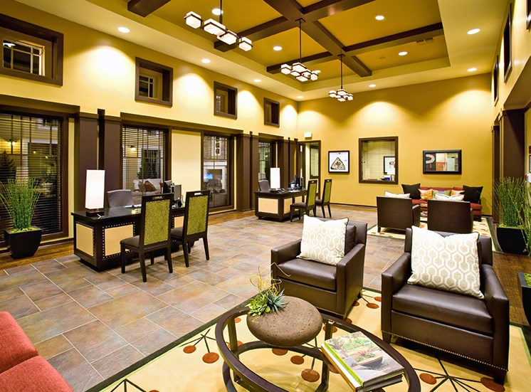 Leasing Office at Dakota Apartments in Winchester CA