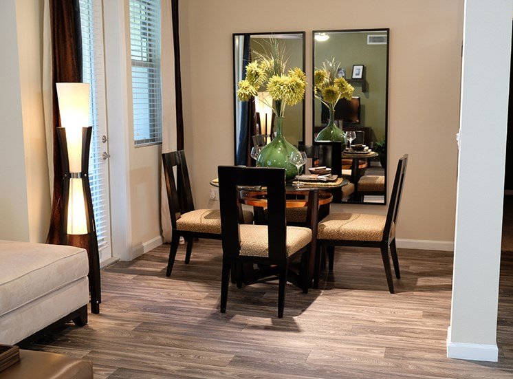 Model Dining Space at Dakota Apartments in Winchester CA