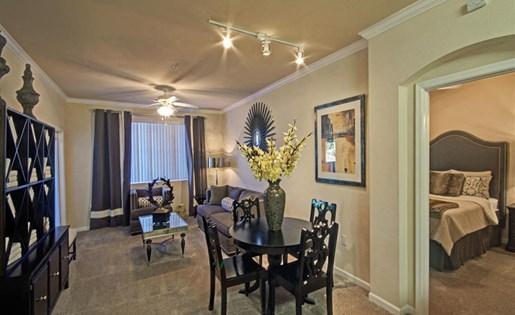 Two bedroom dining room at Ridgestone Apartments in Lake Elsinore CA