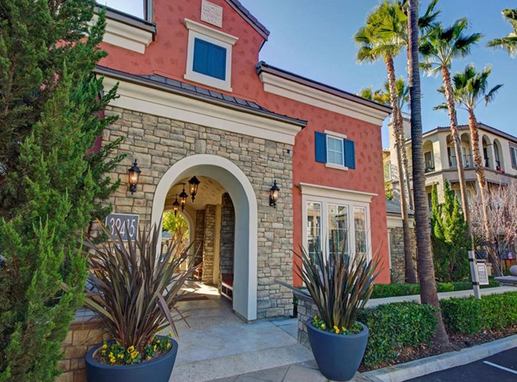 Leasing office exterior at Ridgestone Apartments in Lake Elsinore CA