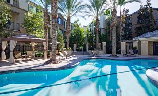 Pool at Ridgestone Apartments in Lake Elsinore CA