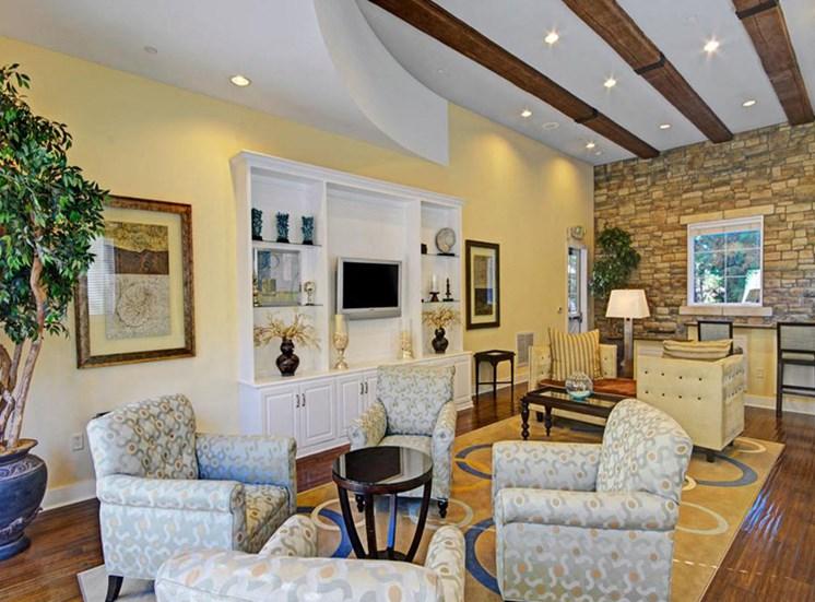 Resident lounge at Ridgestone Apartments in Lake Elsinore CA