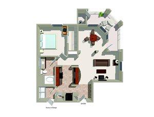 A4 floor plan.