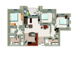 C1 floor plan.