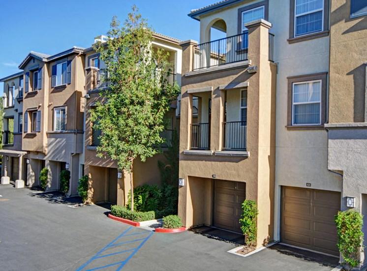 Garages at Ridgestone Apartments in Lake Elsinore CA