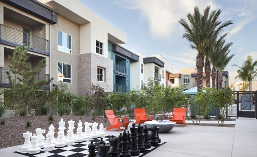 Outdoor Chess at Pulse Millenia in Chula Vista CA