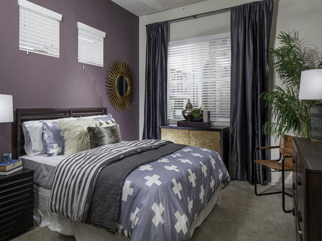 Master Bedroom at Skye Apartments in Vista CA