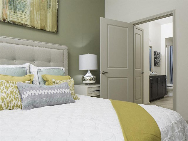 Master Bedroom at Skye Apartments in Vista, CA.