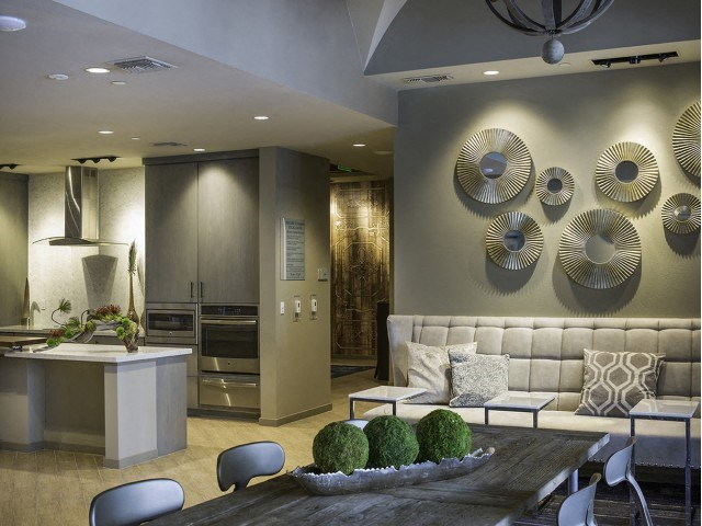 Social Lounge at Skye Apartments in Vista CA