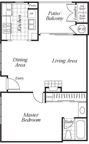 A1 floor plan.