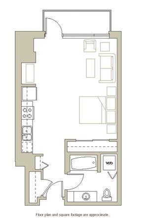 Floor Plan at Riva on the Park, Oregon, 97239
