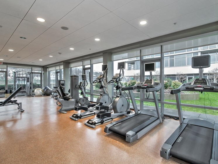High-Tech Fitness Center at Riva on the Park, Portland, 97239