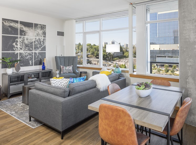 Spacious Living Area at Riva on the Park