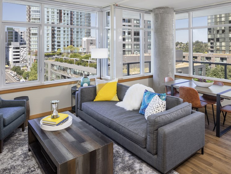 Luxury Apartments with Modern Living Areas in Portland, OR
