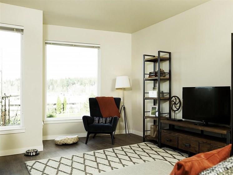 Expansive Windows for More Natural Light at Allez, Washington, 98052