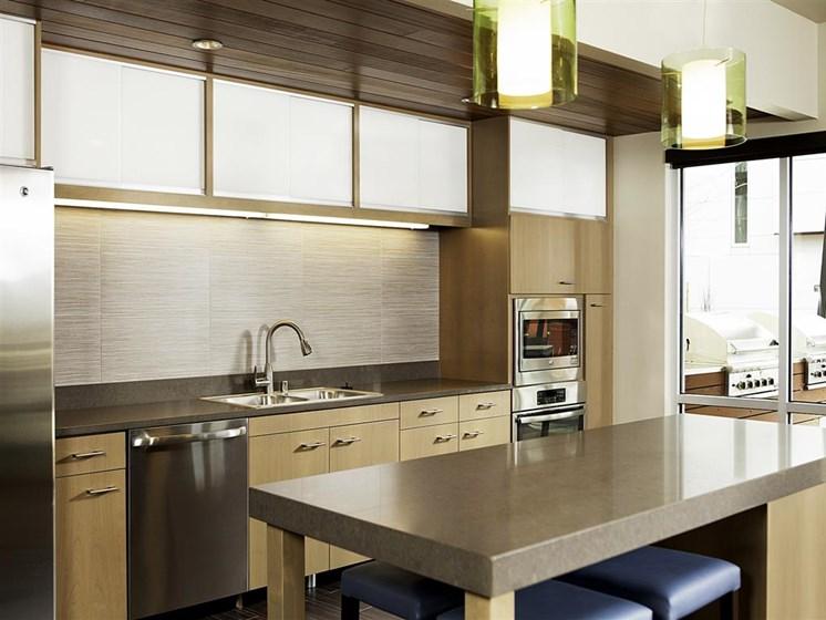 Corian Countertops in Kitchen and Bathrooms at Allez, Redmond, WA