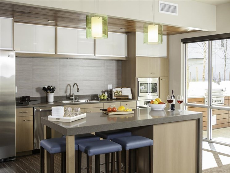 Defined Dining Space at Allez, Redmond,Washington