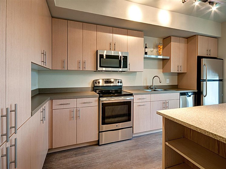 Rich Shaker Style Cabinetry at Allez, Washington, 98052