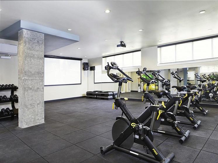 Professional-Grade Fitness Center at Allez, Redmond,Washington