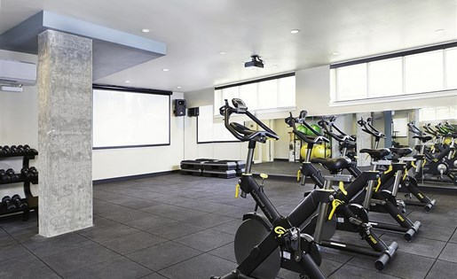 Professional-Grade Fitness Center at Allez, Redmond,Washington