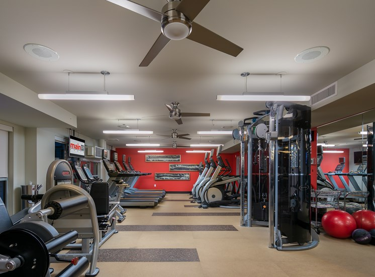 24-Hour Fitness Studio with Premium Fitness Equipment
