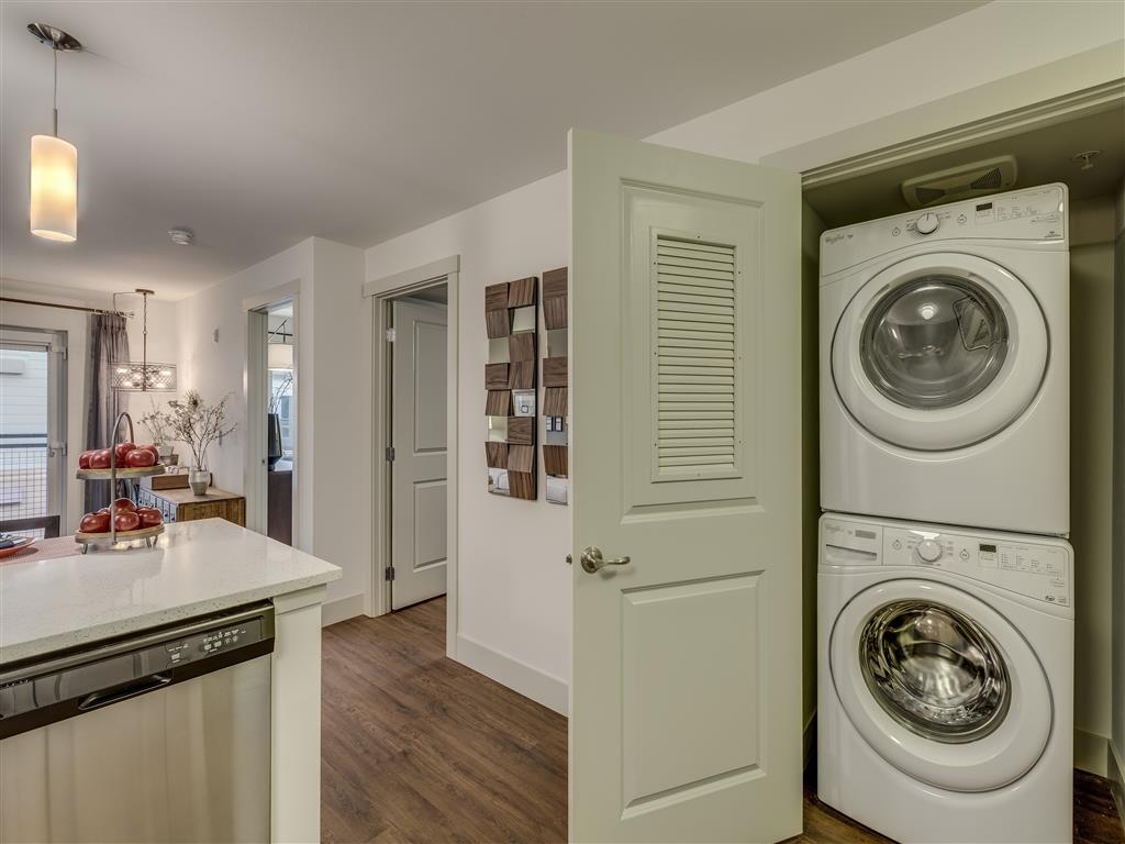 Washer/Dryer Connections at Main Street Flats, Bellevue,Washington