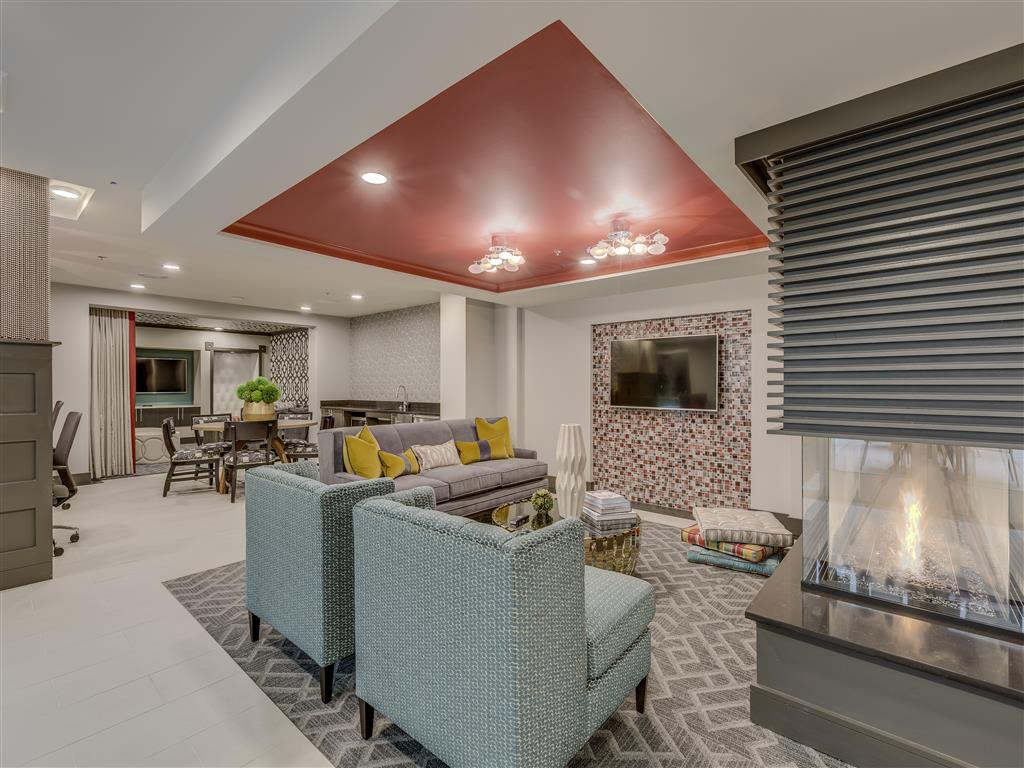 Stylish Clubhouse at Main Street Flats, Bellevue