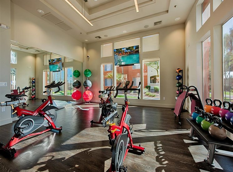 Fitness Center with Spin Room at Aventura, Avondale, AZ